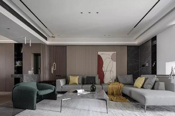 176㎡大平层装修 简约优雅的家居氛围